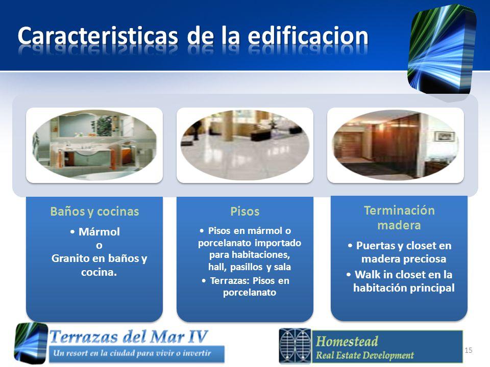 Caracteristicas de la edificacion
