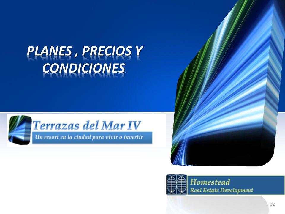 Planes , Precios y condiciones.