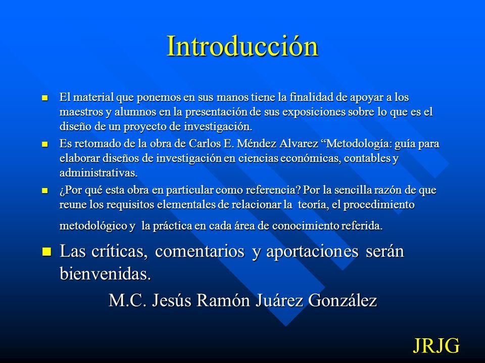 M.C. Jesús Ramón Juárez González
