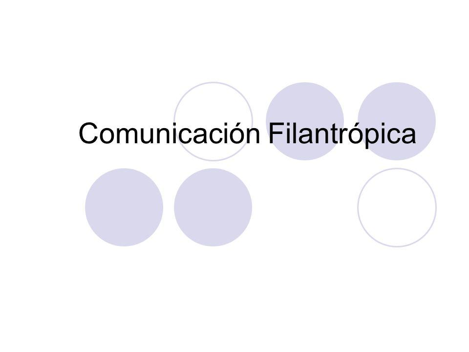 Comunicación Filantrópica