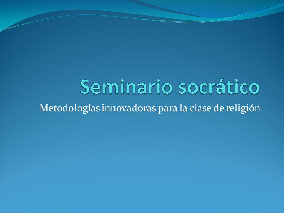 Metodologías innovadoras para la clase de religión