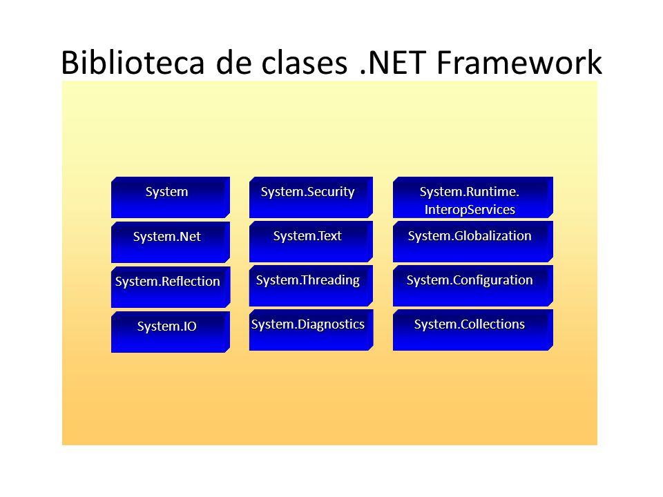 Biblioteca de clases .NET Framework