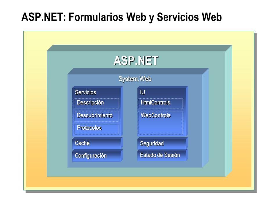 ASP.NET: Formularios Web y Servicios Web