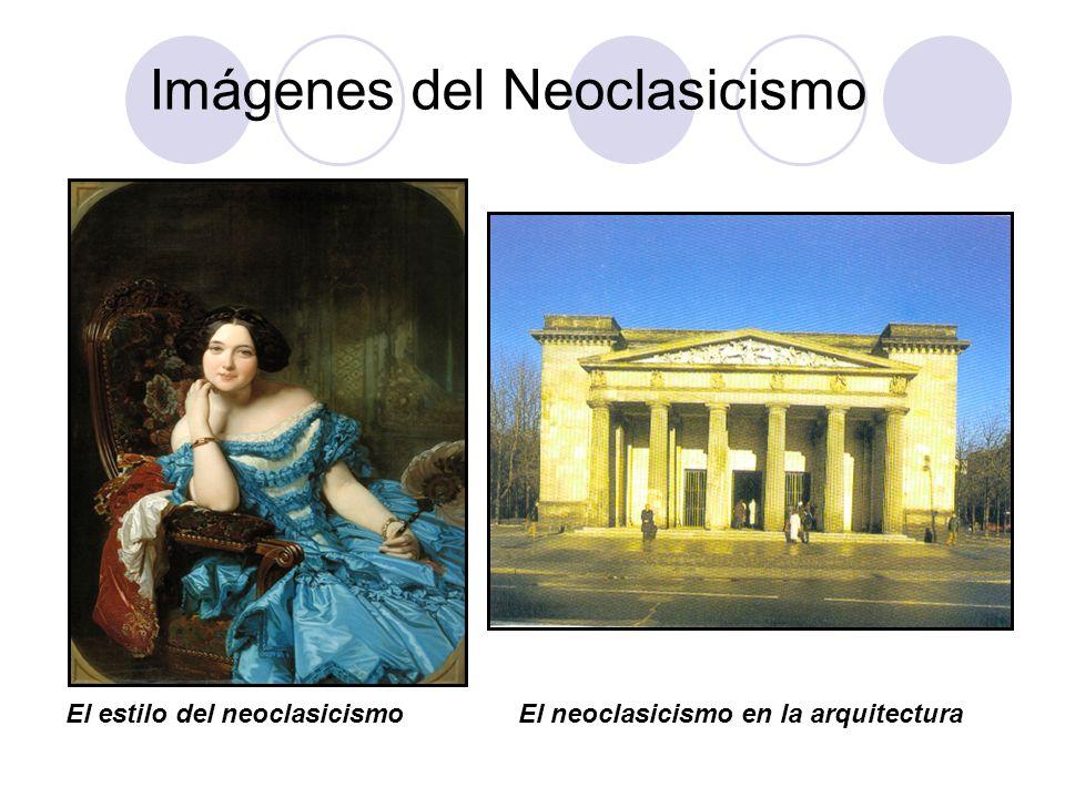 Imágenes del Neoclasicismo