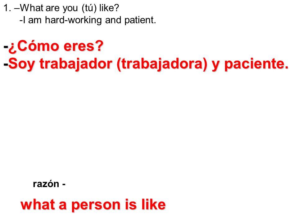 -Soy trabajador (trabajadora) y paciente.