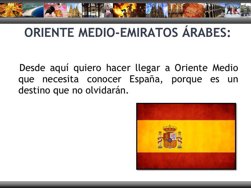 ORIENTE MEDIO-EMIRATOS ÁRABES: