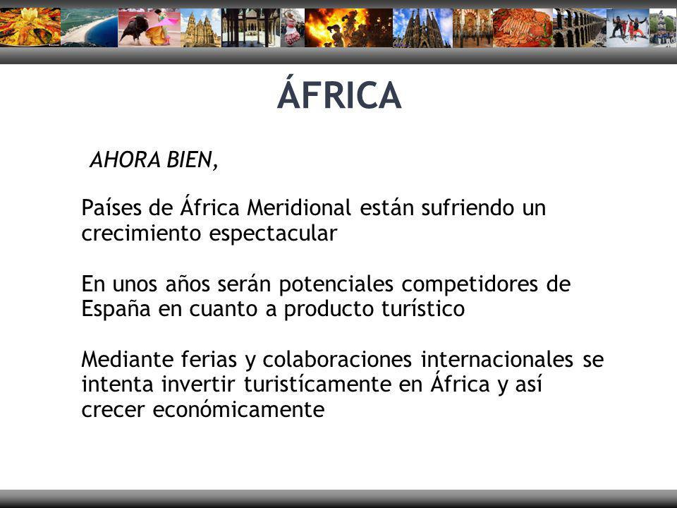 ÁFRICA AHORA BIEN, Países de África Meridional están sufriendo un crecimiento espectacular.