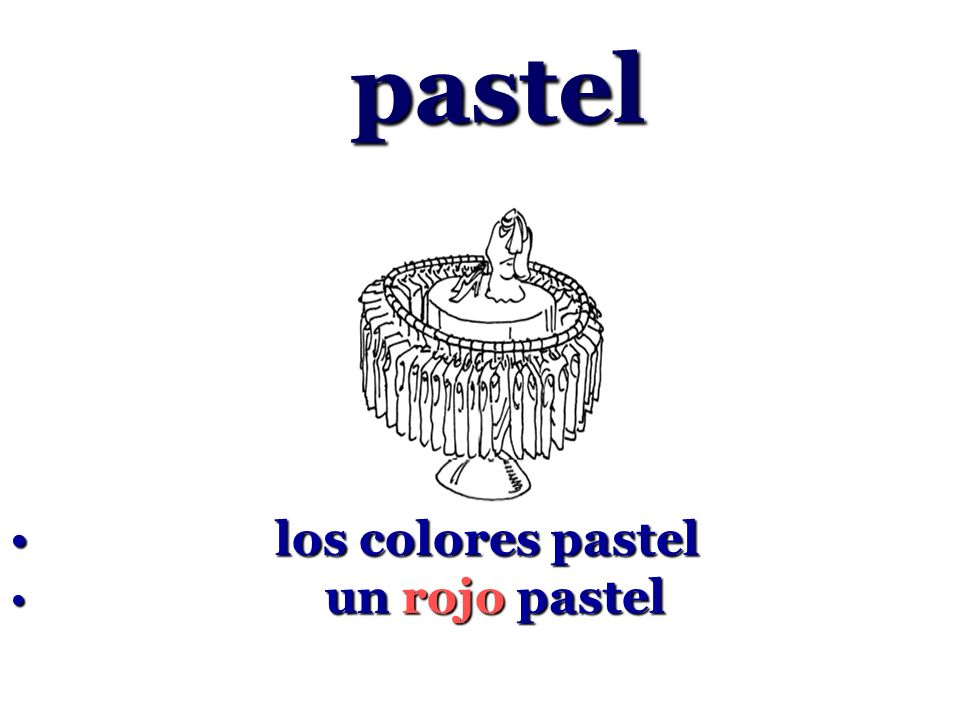 pastel los colores pastel un rojo pastel