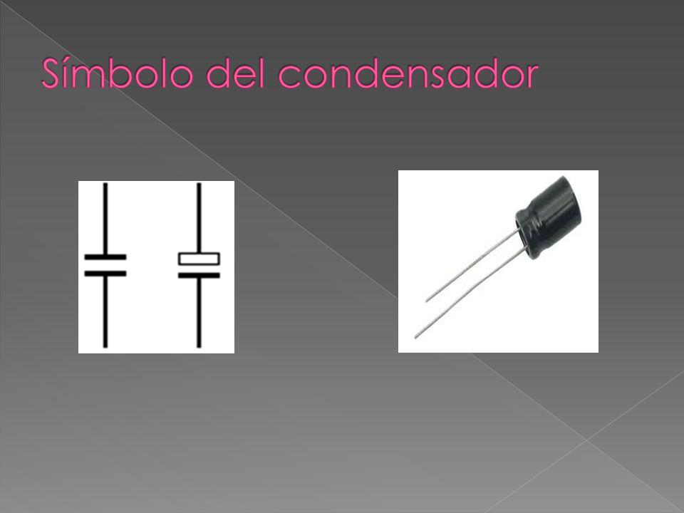 Símbolo del condensador