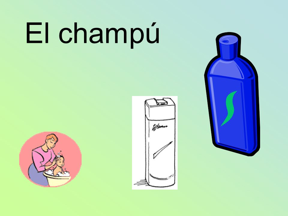 El champú