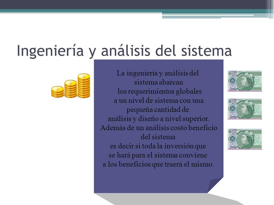 Ingeniería y análisis del sistema