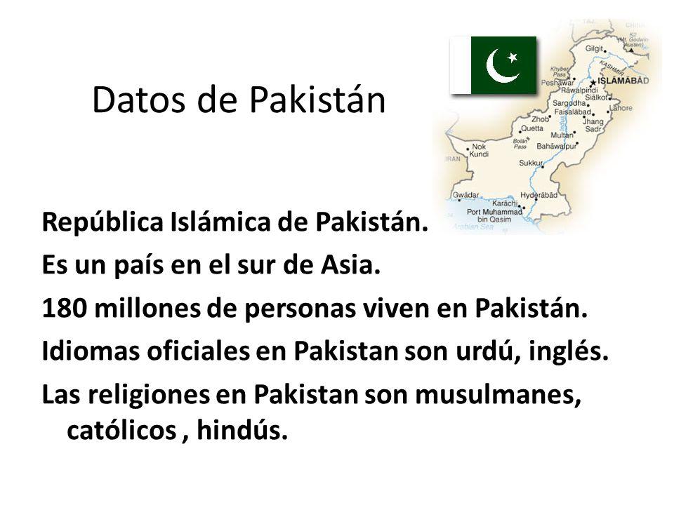 Datos de Pakistán