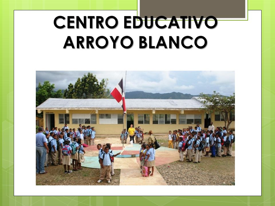 CENTRO EDUCATIVO ARROYO BLANCO