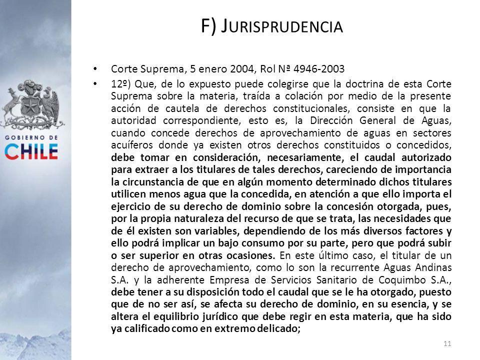 F) Jurisprudencia Corte Suprema, 5 enero 2004, Rol Nª 4946-2003