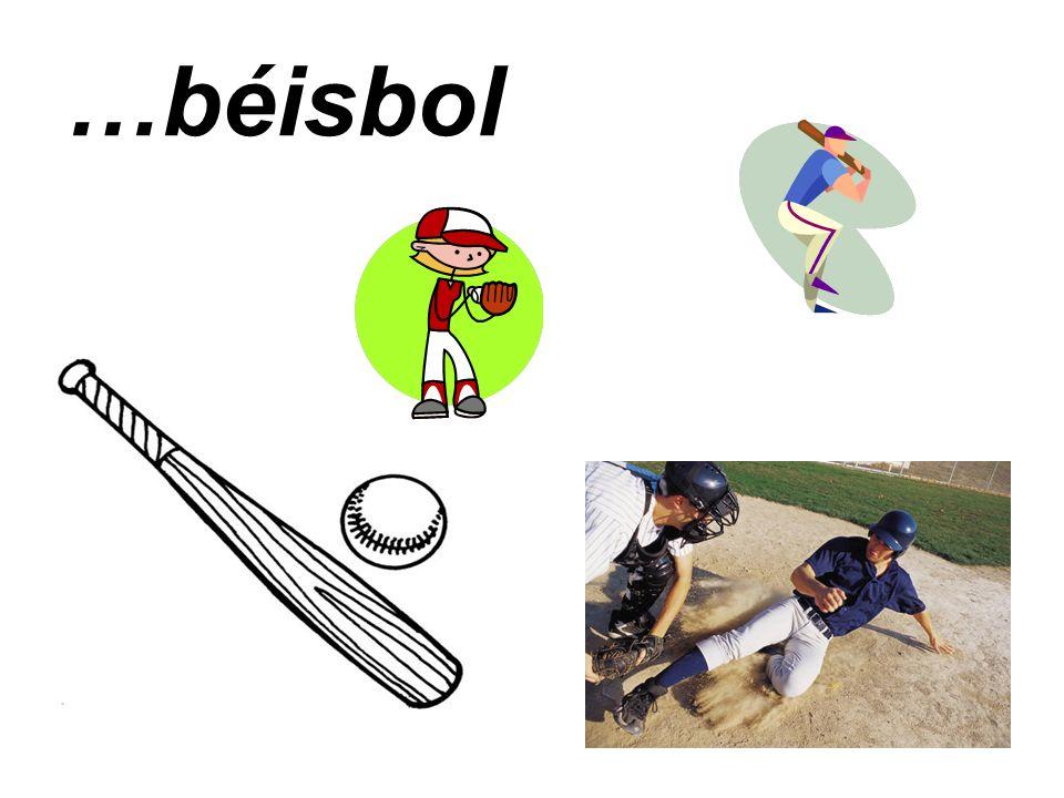 …béisbol