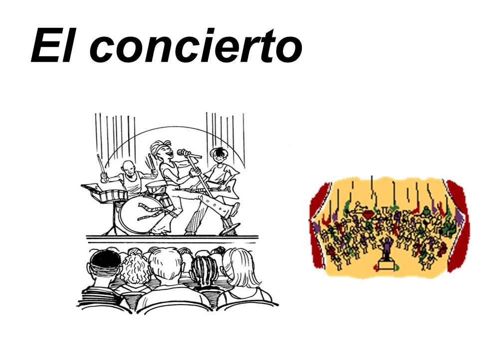 El concierto