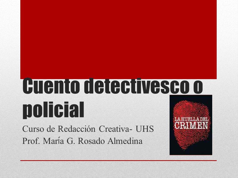 Cuento detectivesco o policial
