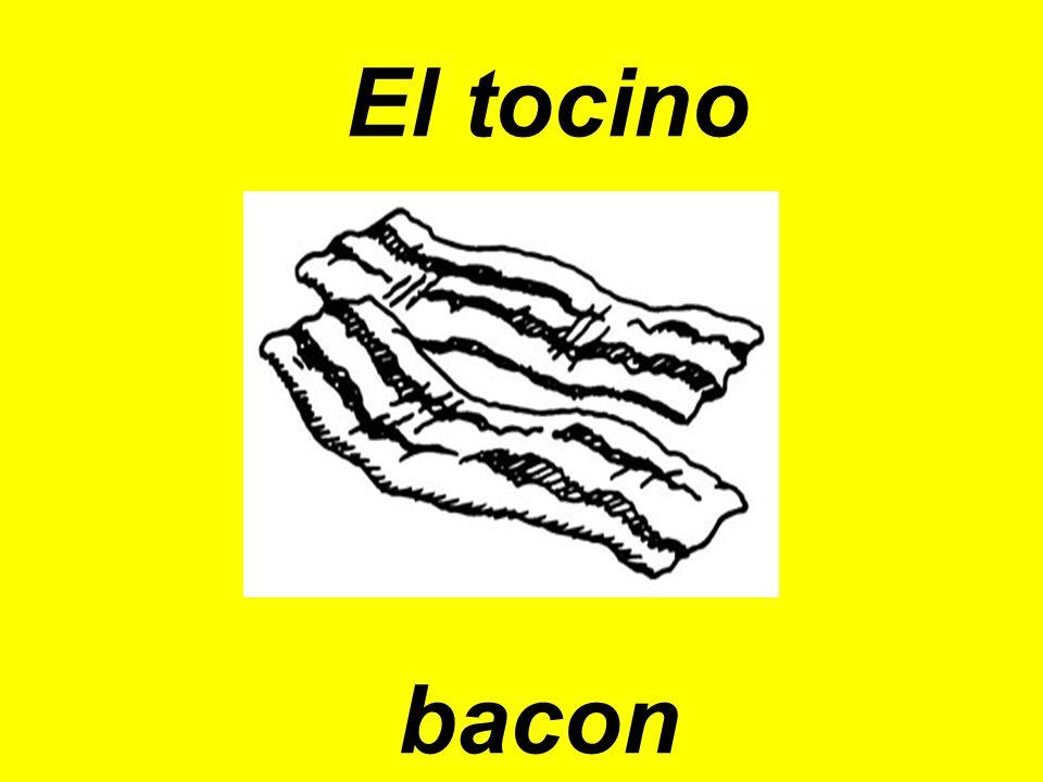 El tocino bacon