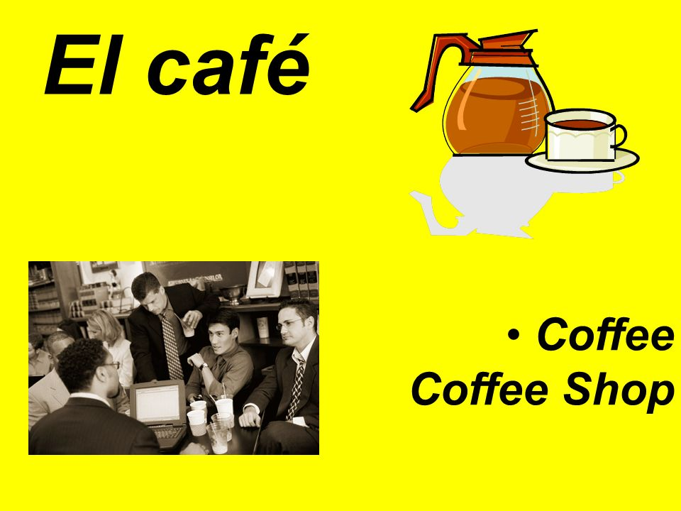 El café Coffee Coffee Shop