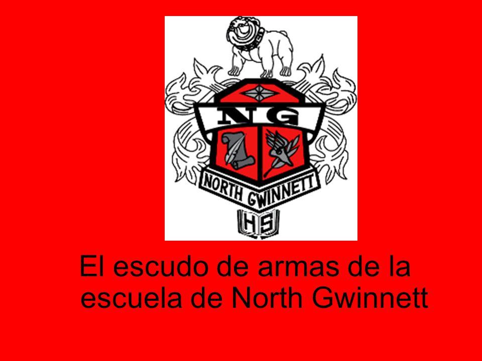 El escudo de armas de la escuela de North Gwinnett