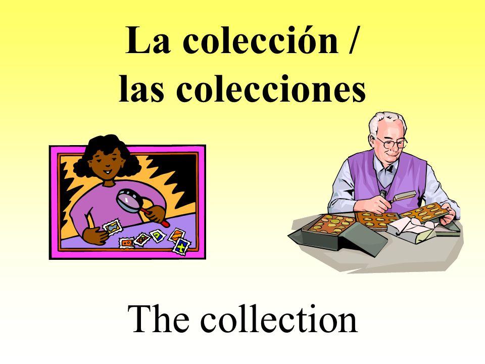 La colección / las colecciones