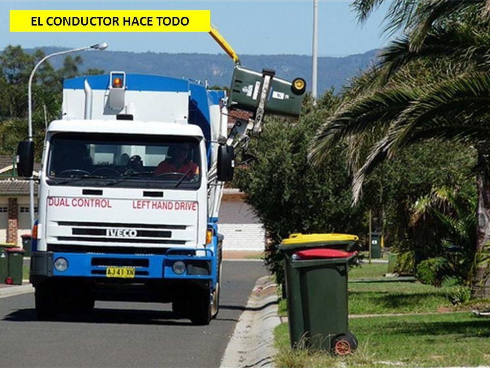 EL CONDUCTOR HACE TODO