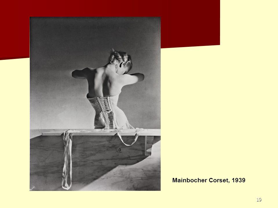 Mainbocher Corset, 1939