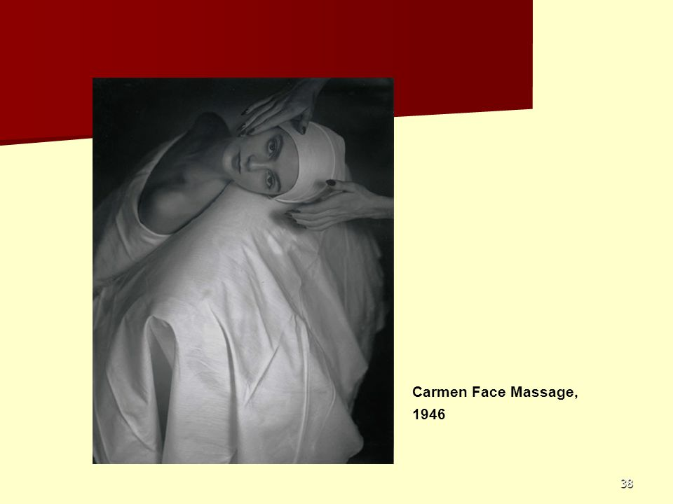 Carmen Face Massage, 1946