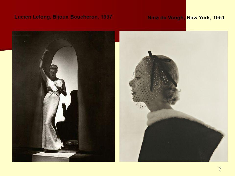 Lucien Lelong, Bijoux Boucheron, 1937