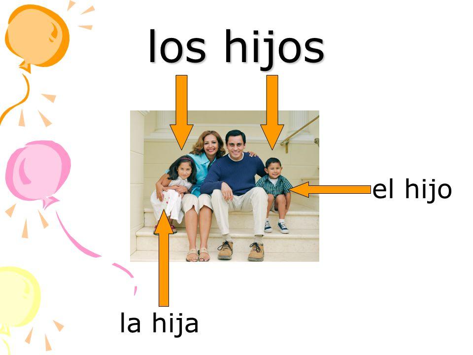 los hijos el hijo la hija