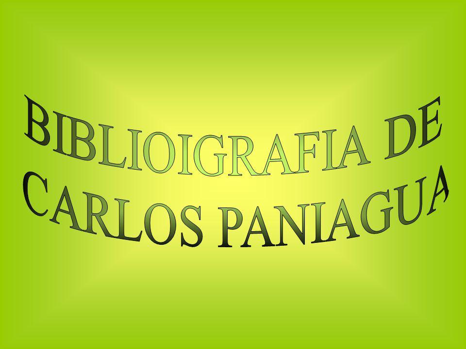 BIBLIOIGRAFIA DE CARLOS PANIAGUA