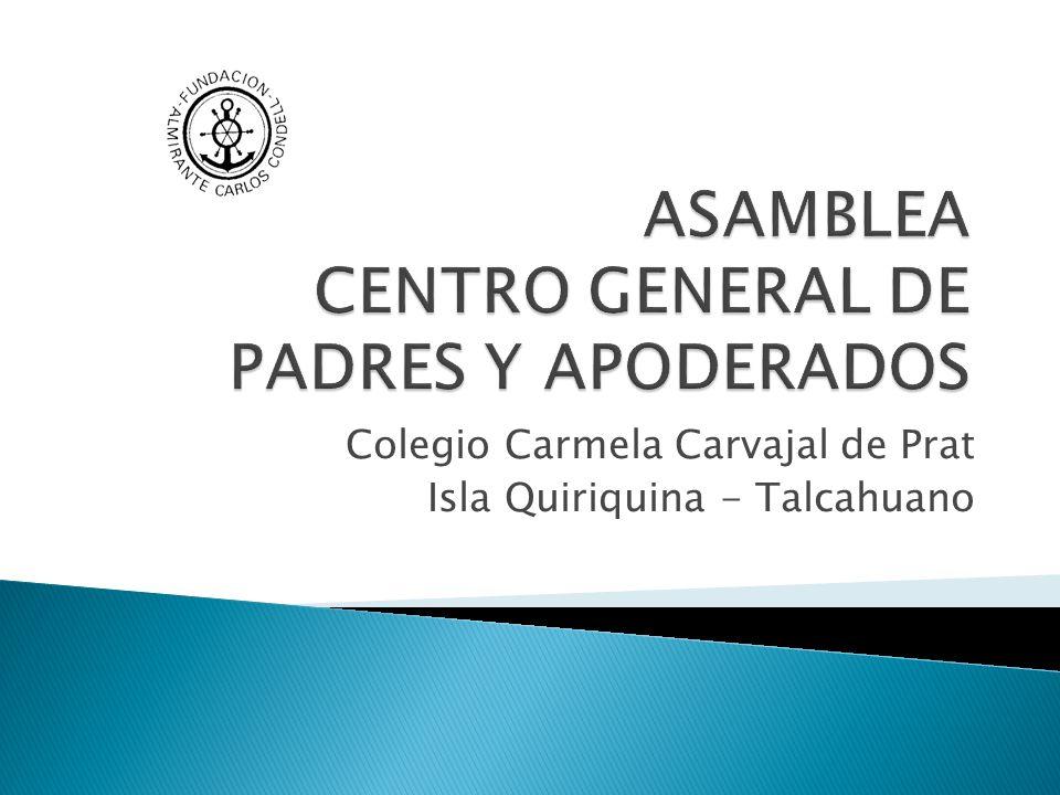 ASAMBLEA CENTRO GENERAL DE PADRES Y APODERADOS