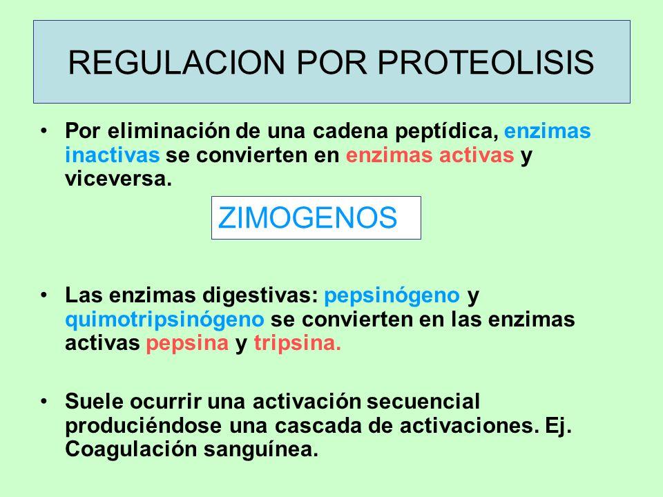 REGULACION POR PROTEOLISIS
