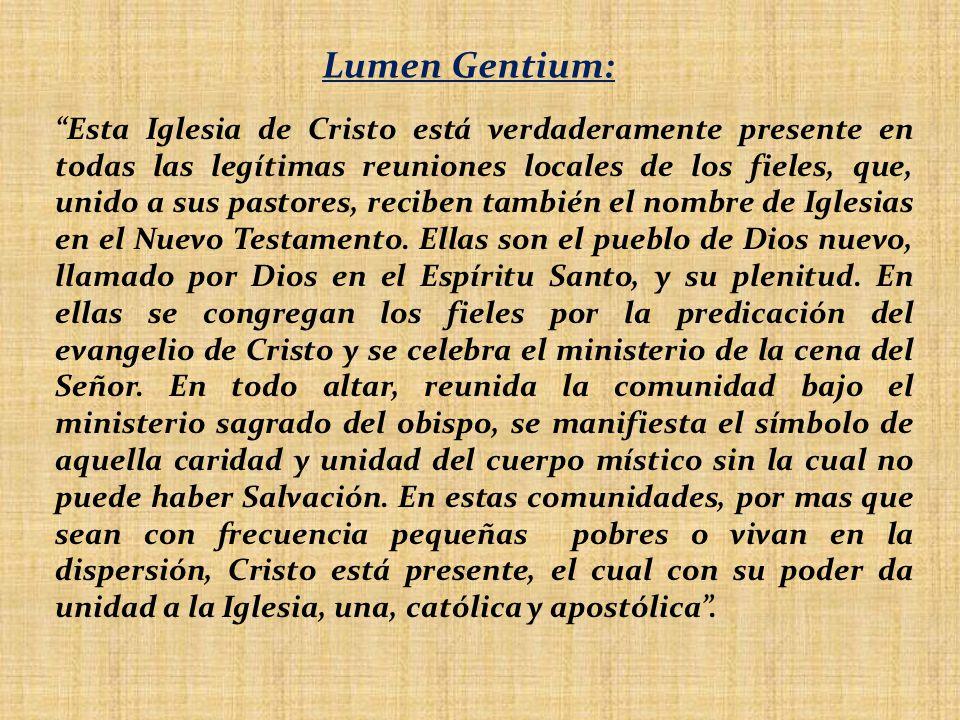Lumen Gentium: