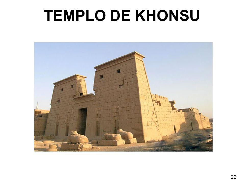 TEMPLO DE KHONSU