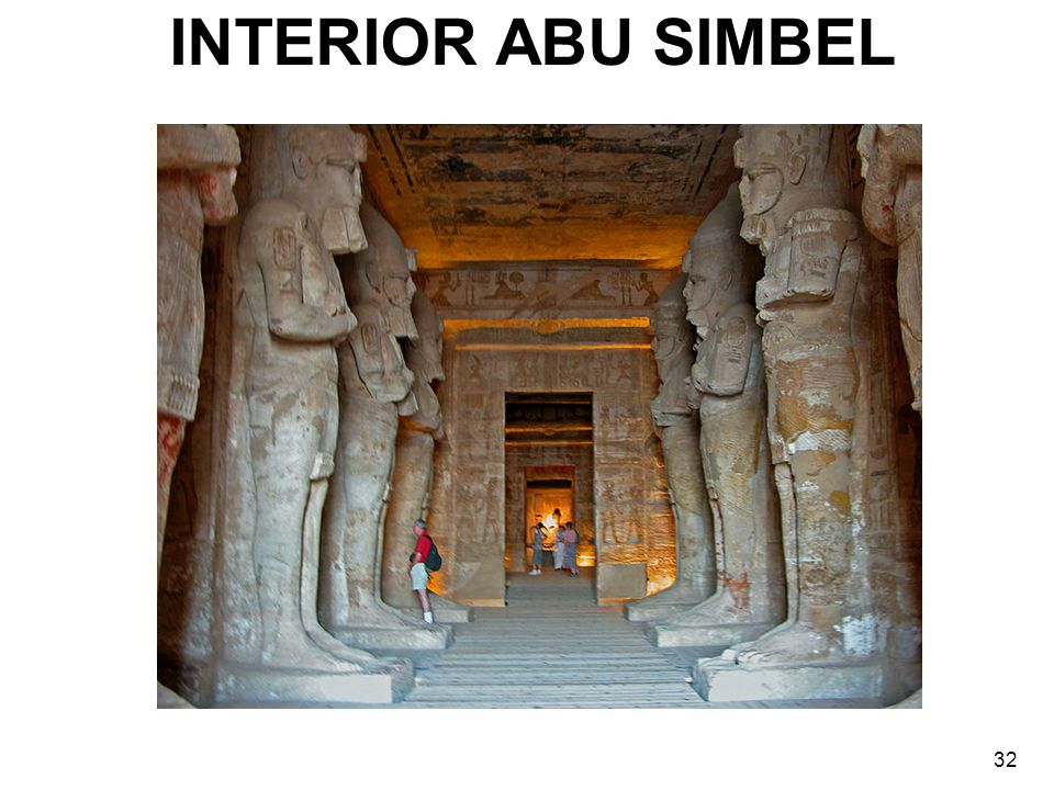 INTERIOR ABU SIMBEL