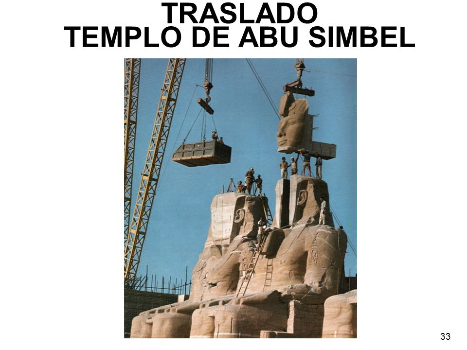 TRASLADO TEMPLO DE ABU SIMBEL