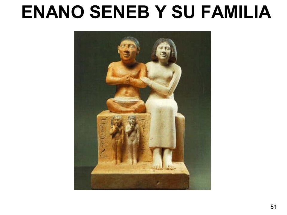 ENANO SENEB Y SU FAMILIA