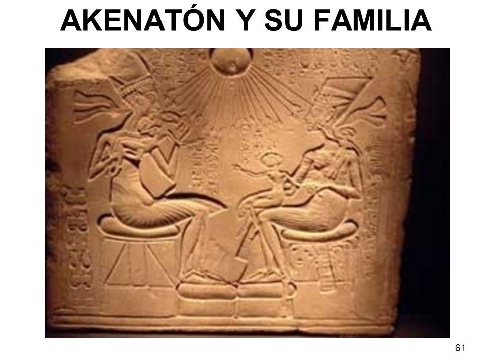 AKENATÓN Y SU FAMILIA
