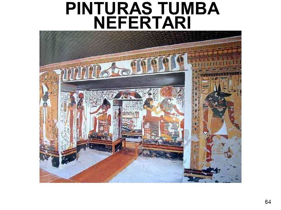 PINTURAS TUMBA NEFERTARI