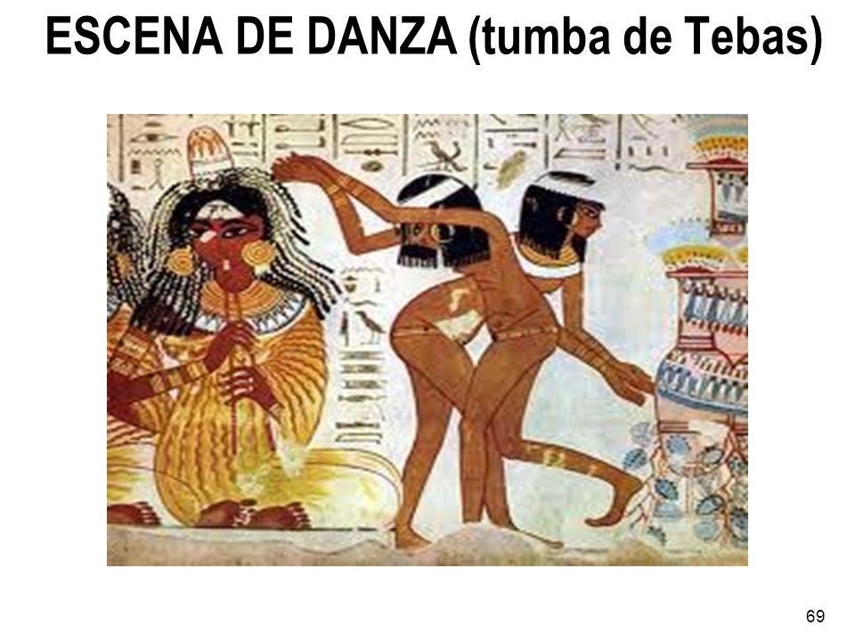ESCENA DE DANZA (tumba de Tebas)
