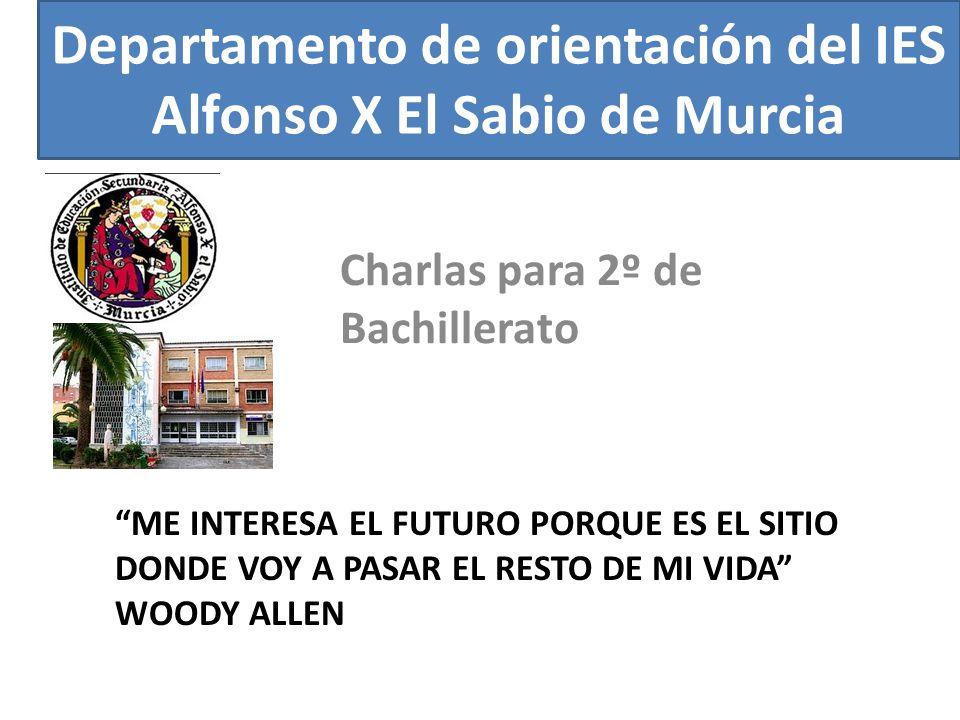 Departamento de orientación del IES Alfonso X El Sabio de Murcia