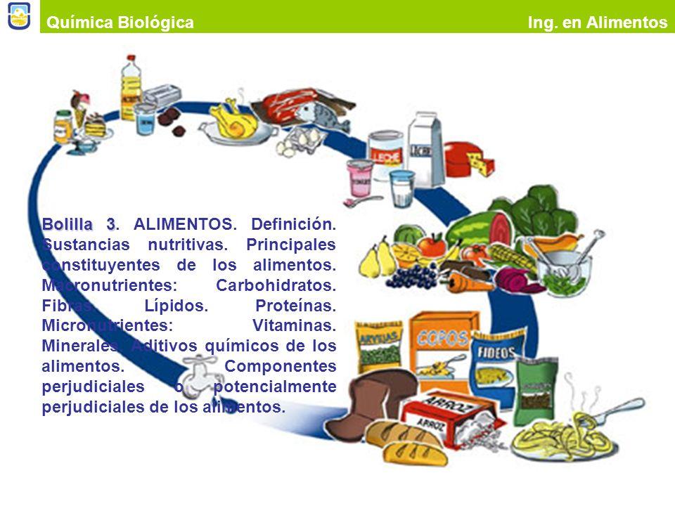 Química BiológicaIng. en Alimentos.