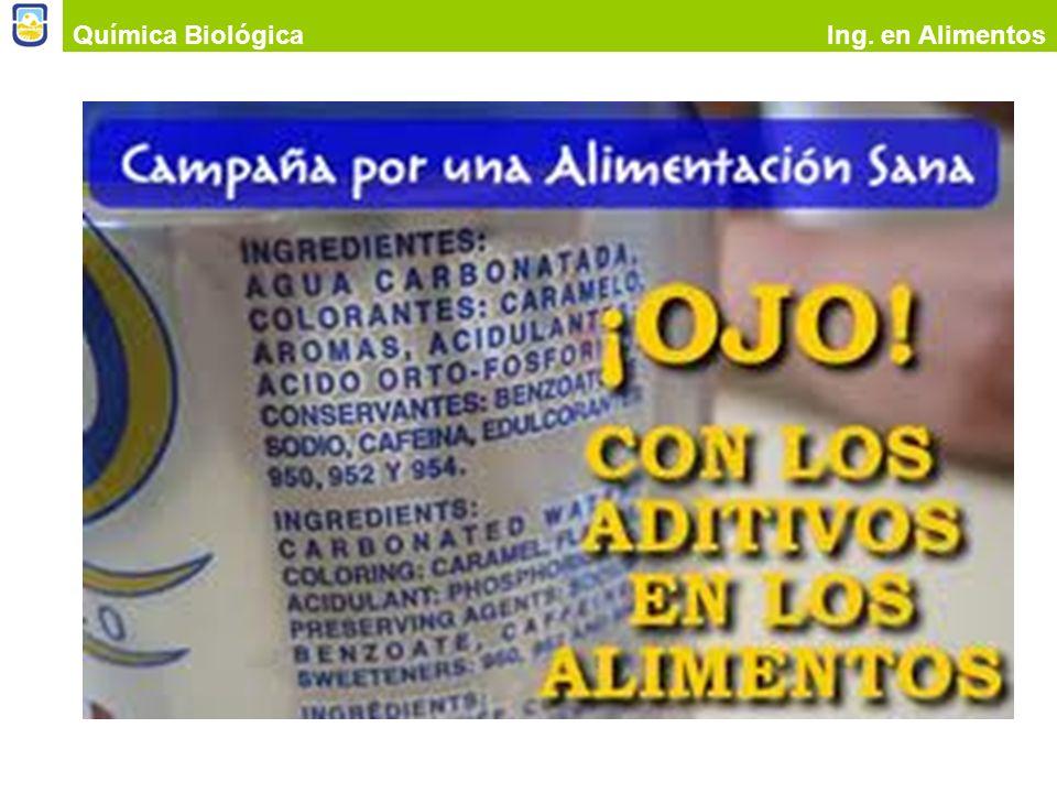 Química Biológica Ing. en Alimentos