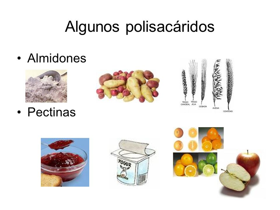Algunos polisacáridos