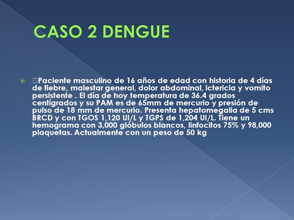 CASO 2 DENGUE