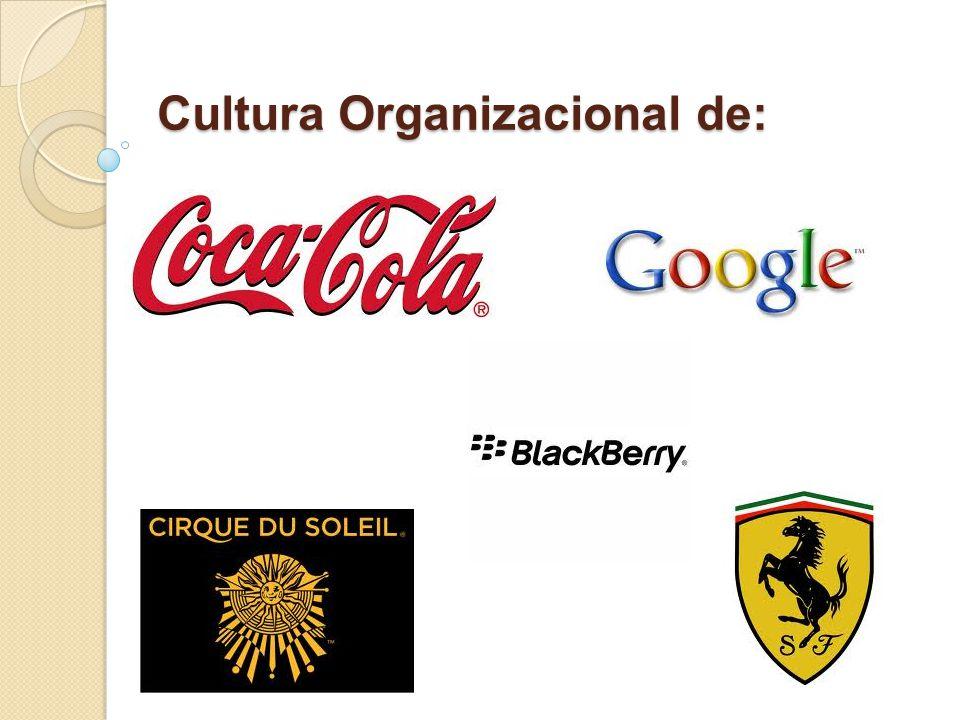 Cultura Organizacional de: