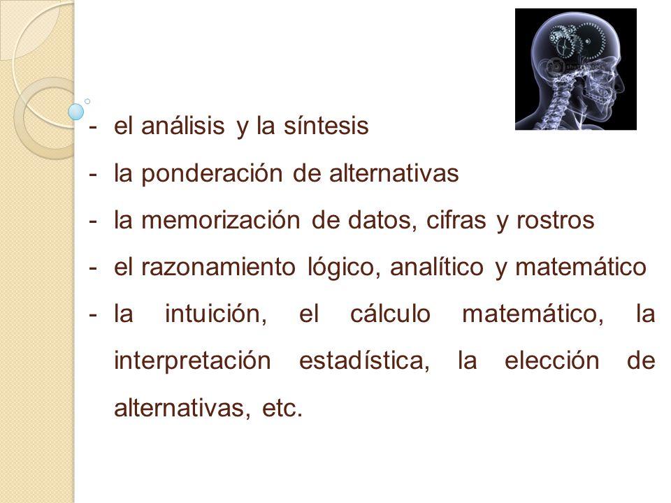 el análisis y la síntesis