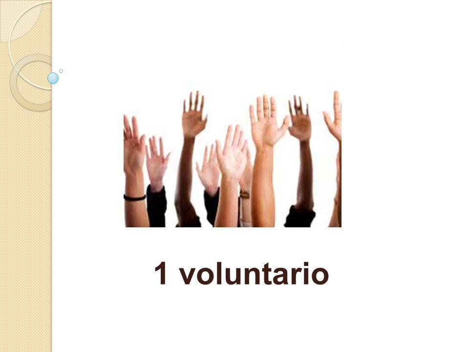 1 voluntario