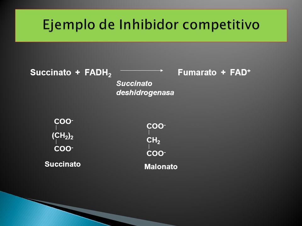 Ejemplo de Inhibidor competitivo